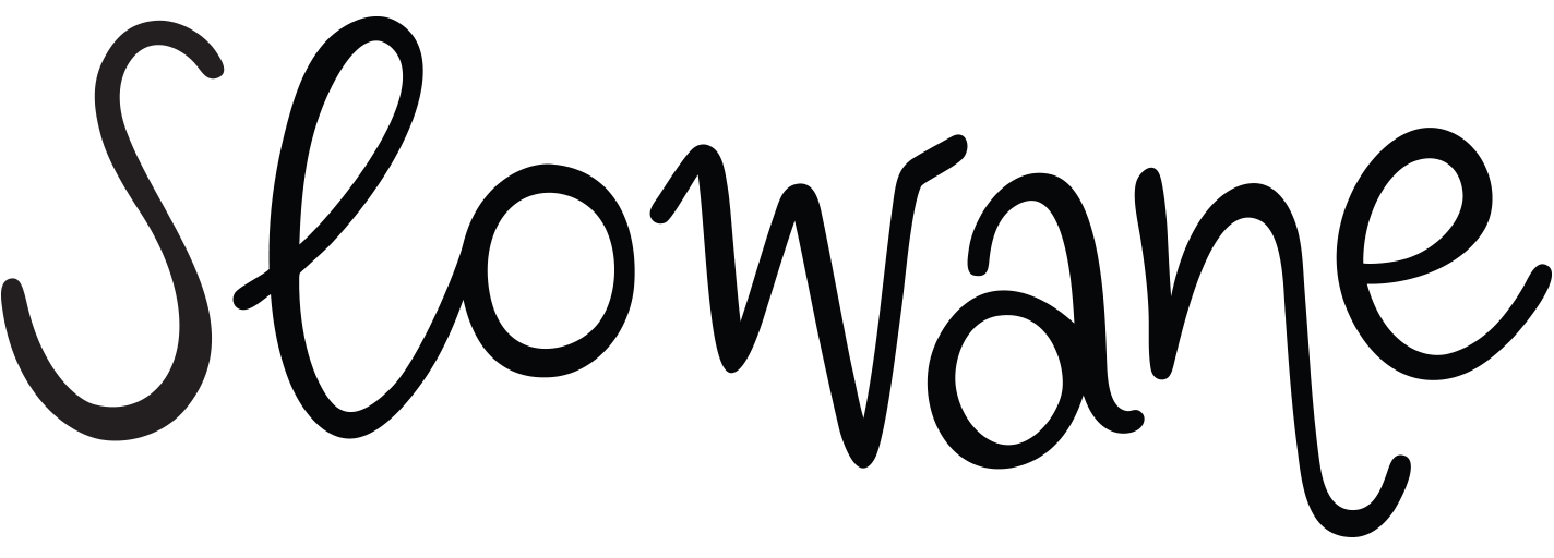 Logo de Slowane en horizontal