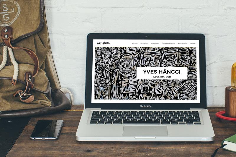 Page d'accueil du site d'Yves Hänggi