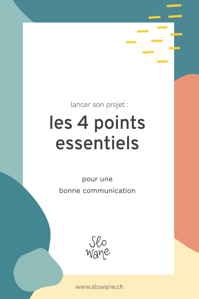 4 points essentiels pour une bonne communication - article du Blog Slowane