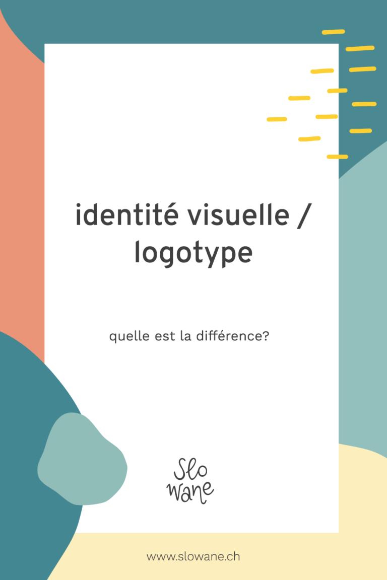 Identité visuelle ou logotype : quelle est la différence?