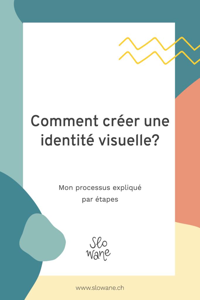 Comment créer une identité visuelle? Mon processus de création par étapes.