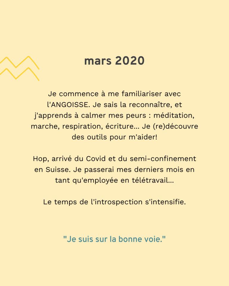 Bilan 2020 : mars